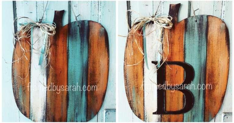 Reclaimed Wood Pumpkin Workshop