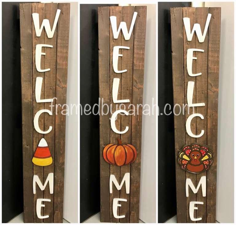 Porch Sign + WELC ME Letters Workshop