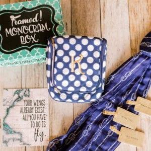 """March Monogram Box – """"The Weekend Getaway"""""""