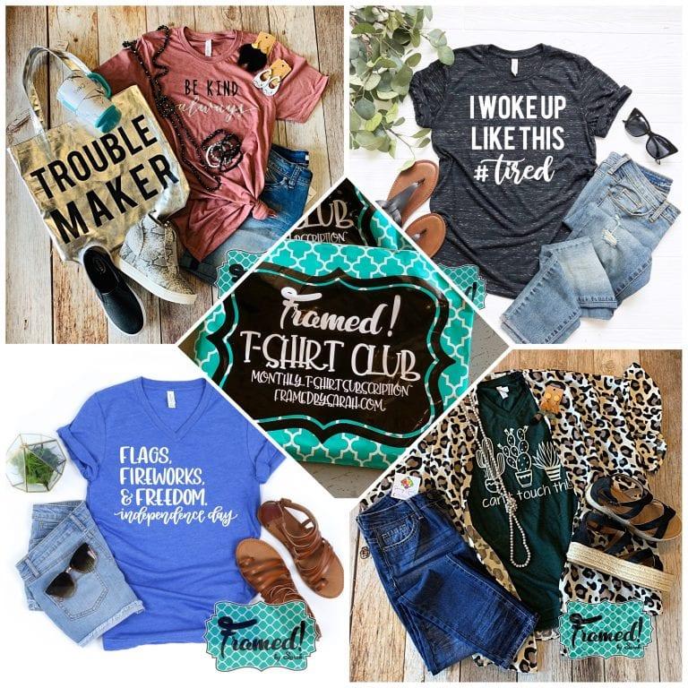T shirt Club Gift Ideas for Women
