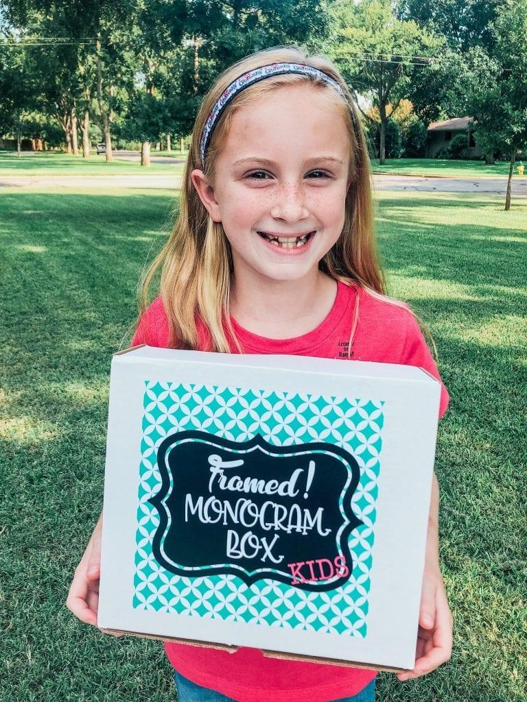 Parker Monogram Subscription Box for Kids