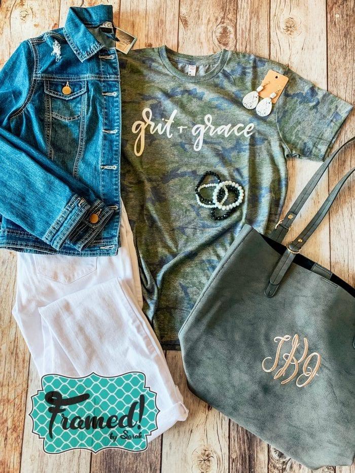 Grit & Grace T Shirt Cub Box Subscription