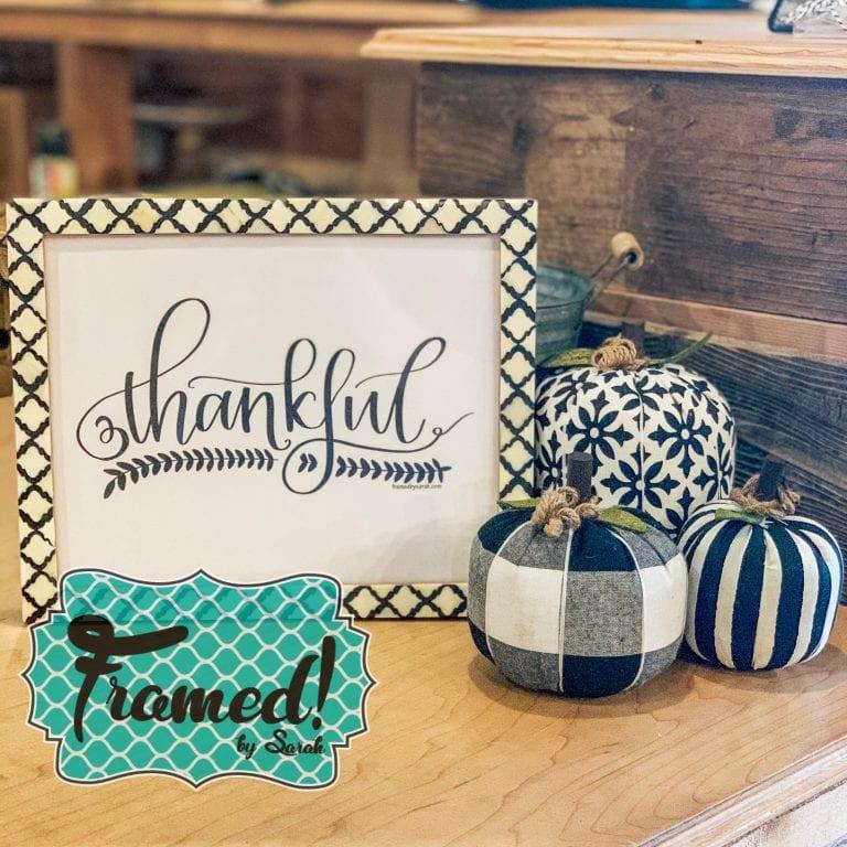 November Monogram Box Reveal Mad about Plaid Thankful