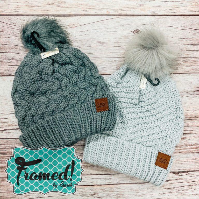 Cozy Hat December Monogram Box