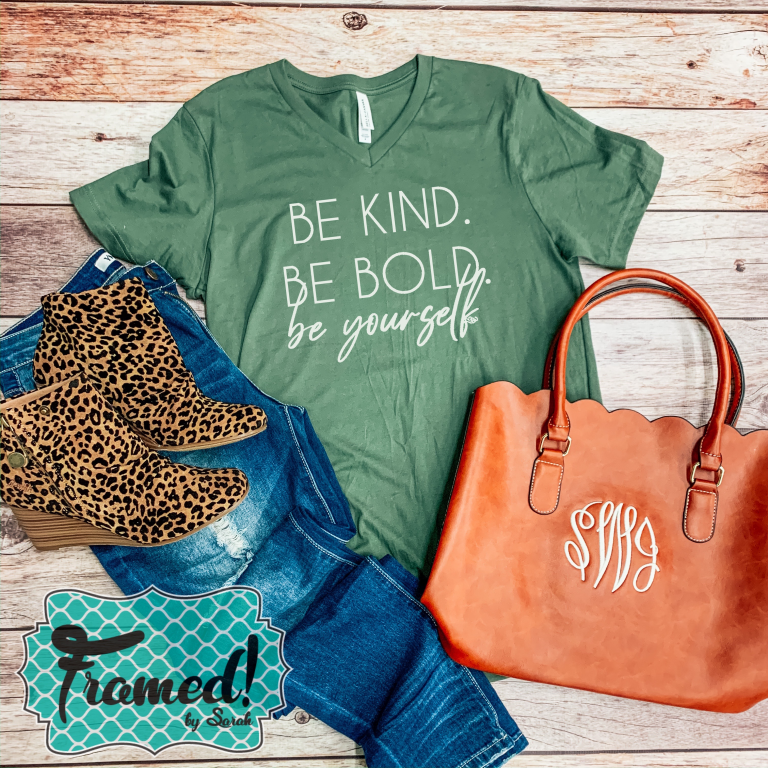 be kind be bold be yourself