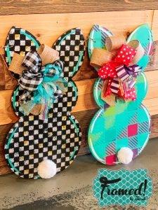 Read more about the article Bunny Door Hanger DIY Painting Tutorial