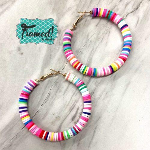 Candy Disc Earrings