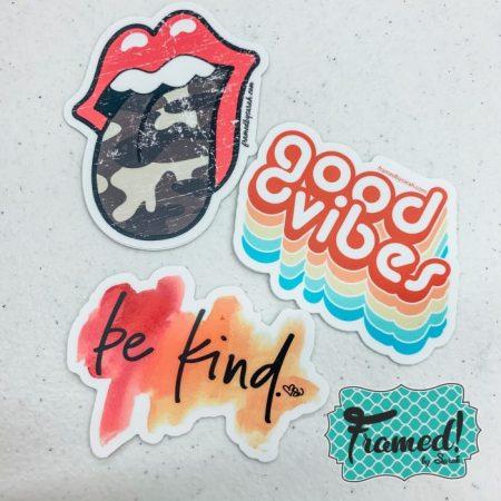 Good Vibes Die Cut Sticker Set