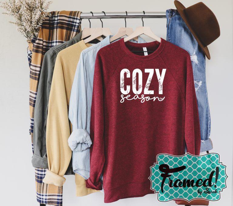 Cozy Season Favorite Sweatshirt for Fall Gifts for Teenage Girls