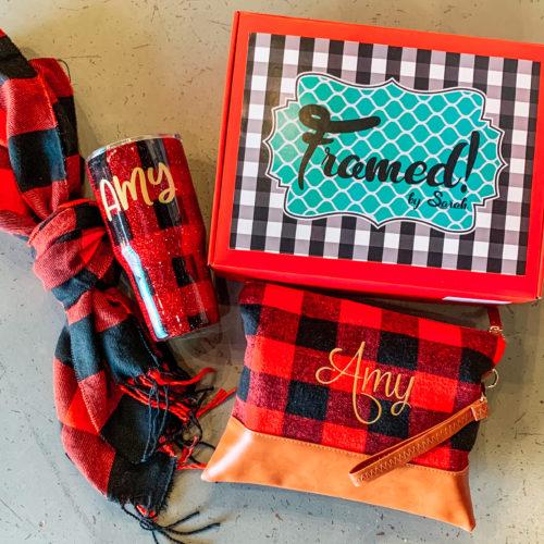 Buffalo Plaid Gift Box