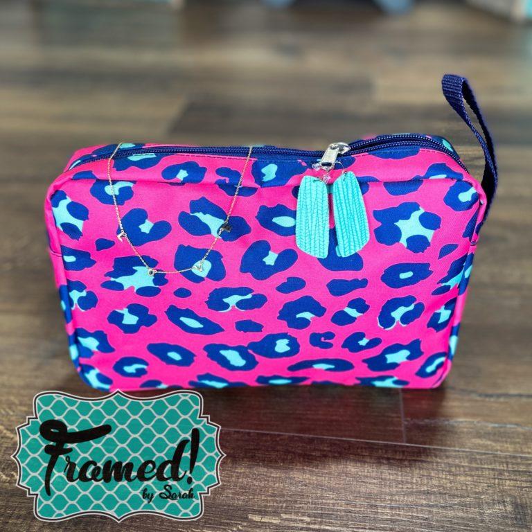 April 2021 Monogram Box carry all zipper pouch