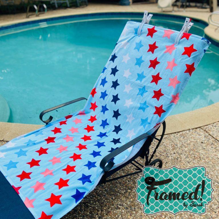 Star Beach Towel Summer Fun Monogram Box Reveal