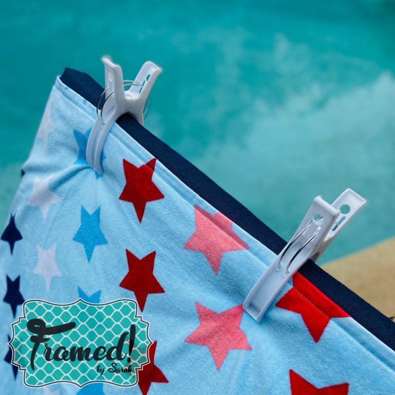 Towel Clips Summer Fun Monogram Box Reveal