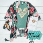 Leopard Heart • August T-Shirt Club Tee