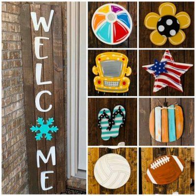 welcome board attachments